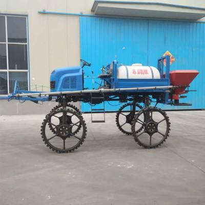 山东生产自走式喷雾机 志成牌500L四驱打药车 水旱两用柴油打药机