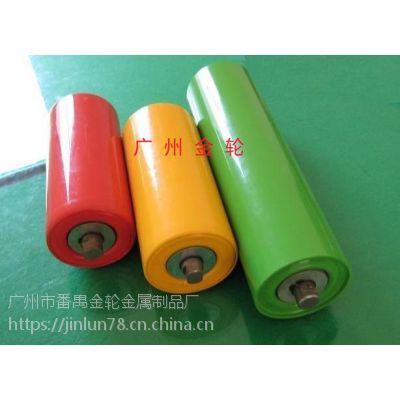 包胶滚筒聚氨酯胶辊定做滚轮,输送带滚筒橡胶套胶辊无动力胶轮