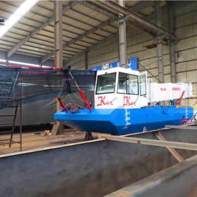 科大打捞水草船型号 收集水葫芦设备价格