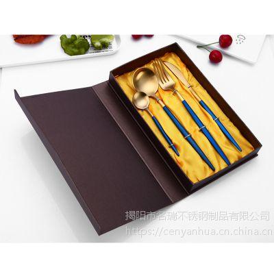 加厚不锈钢刀叉勺/名瑞餐刀批发/酒店西餐具可定制LOGO