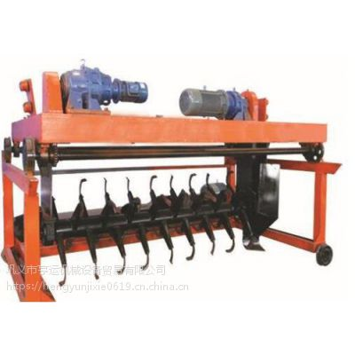 设备翻堆机 槽式翻堆机价格 大型翻堆机 对辊挤压造粒机