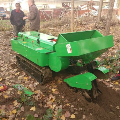 自走式开沟施肥机回填机 30马力浩发履带式中耕机厂家