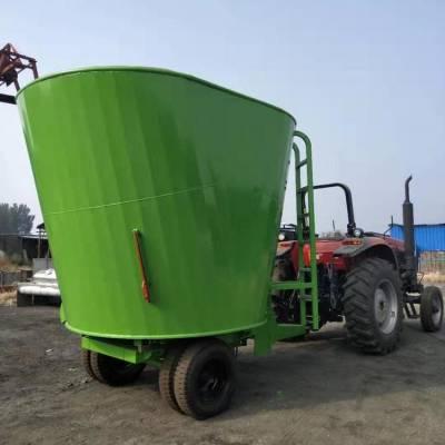 移动式饲料搅拌机 全日粮粉草搅拌机 饲养场专用拌草机