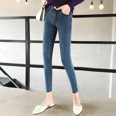 便宜牛仔裤清货九分裤清仓低价处理便宜杂款牛仔裤5元以下清货小脚裤