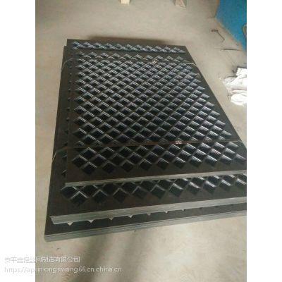 专业生产菱形装饰孔板 不锈钢防护冲孔板 工地防尘冲孔网