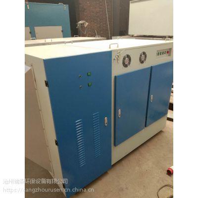 河北沧州市瑞森环保等离子油烟净化设备适用于各种废气异味净化