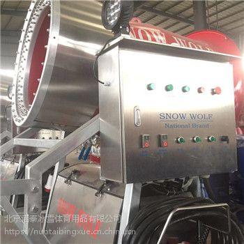 河南人工造雪机工作效率高小型造雪机全自动化操作省时省力