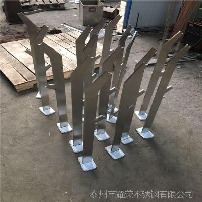 专业加工制作 304不锈钢楼梯栏杆 室外栏杆立柱 设计安装加工