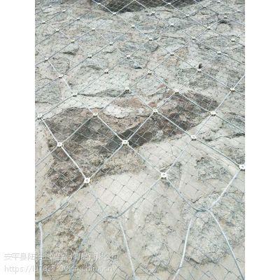 陆铭供应主动边坡防护网 自然灾害防护网厂家