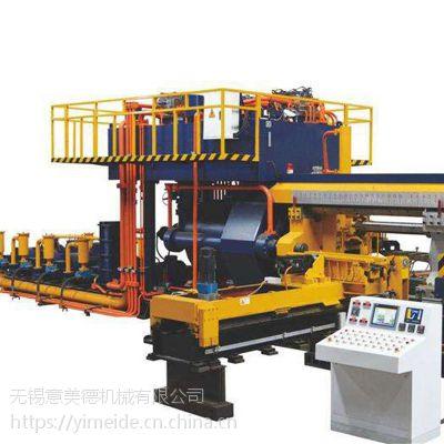 自动铝排挤压机高效率生产铝材产品成品率高