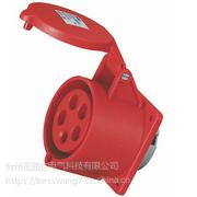 暗装插座QX-3451 5芯32A防护IP44工业插座