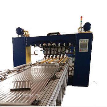 南京豪精 散热器多点焊机 厂家直销 专机定制