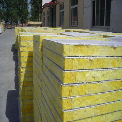界首市国标半硬质防火岩棉复合板120kg运费报价