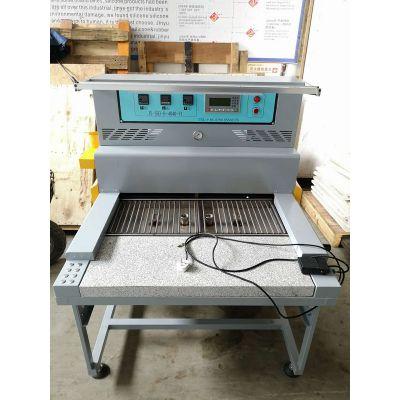 PVC双工位烤模台 滴塑商标烤台 东莞PVC烤箱