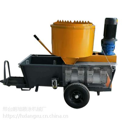 湖北 厂家直销 全自动砂浆粉墙 柴电两用喷涂设备