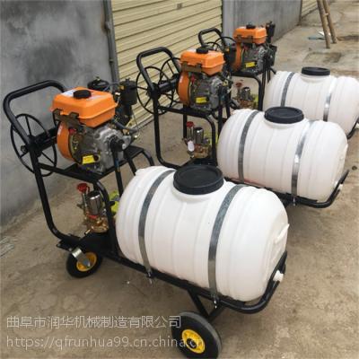 农户打药专用喷雾器 值得信赖的高压喷雾机 大容量卷管打药机