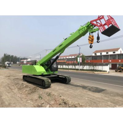 16吨履带吊车 臂长7米5节 使用场所 电力抢修 16吨履带吊价格