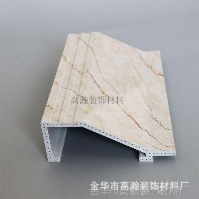 仿大理石电视背景墙 石塑装饰画框简易罗马柱石塑线条生产厂家