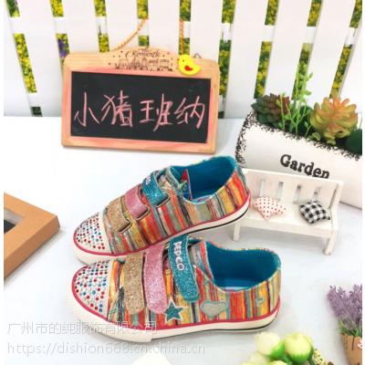 国内知名品牌小猪班纳冬季童鞋尾货批发