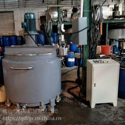 1吨高速搅拌罐 分散搅拌缸 乳胶漆304不锈钢搅拌桶