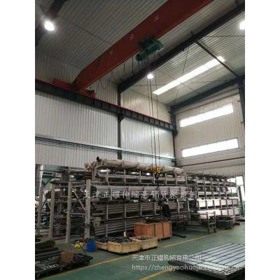 安徽重型悬臂式货架厂家 伸缩双悬臂货架实拍图 棒材库仓储设备