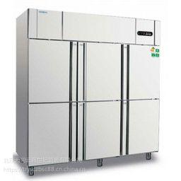 冰立方六门冰箱 六门单温冷冻冰箱F6 不锈钢铜管冷冻柜