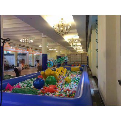 亲子主题游乐园淘气堡滑梯蹦床海洋球池