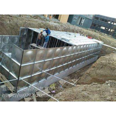 河北箱泵一体化地埋式BDF装配式消防水池