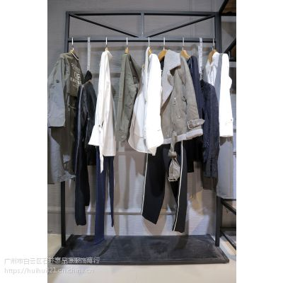 欧时力睡衣尾货批发 品牌折扣 批发 女装羽绒服尾货灰色蕾丝衫