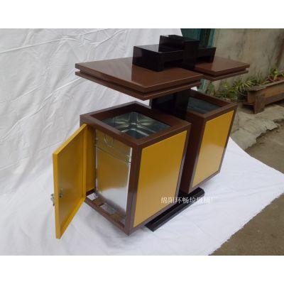 户外垃圾桶 多色画面垃圾箱 3D平板打印图案 多色美观的果皮箱 工厂直供