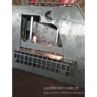 武汉500吨的金属废料虎头剪切机200吨的小型龙门剪切机多少钱思路液压切断机视频