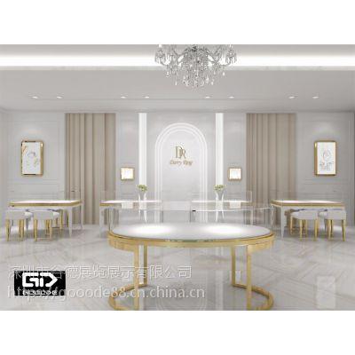 戴瑞钻石定制南京门店 珠宝展柜 轻奢品货架陈列 谷德设计制造G30