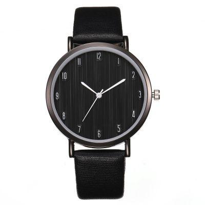 厂家直销新款热卖时尚木纹男士手表 简约女款数字表盘石英腕表专业定制批发