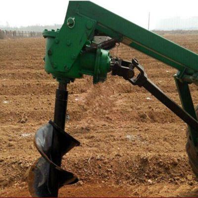 曲阜线杆立杆挖穴机 拖拉机挖坑机动力强劲