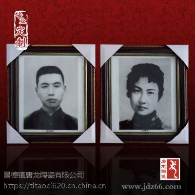 千火陶瓷 江西景德镇定做手绘瓷像厂家