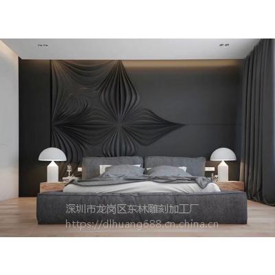 河南厂家定制别墅度假村室内外装修装饰板材波浪板雕刻板