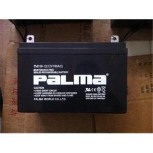 PALMA八马蓄电池PM80-12/12V80储能蓄电池厂家