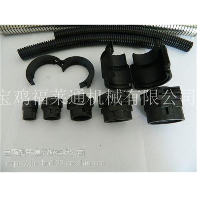 福莱通可打开式接头 AD54.5-M50*1.5双开口波纹管连接器批发