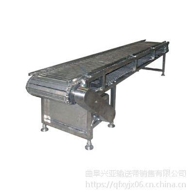 链板输送机配件厂家 倾斜式链板输送机生产规格加工厂家