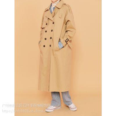 白沙女杭州女装尾货批发折扣女装 北京针织品尾货批发市场棕色棉衣