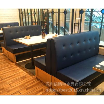 倍斯特简约现代时尚大理石餐桌创意中餐西餐厂家定制