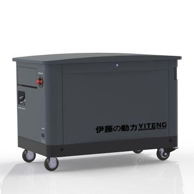 三相四线10KW汽油发电机