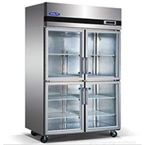 格林斯达/星星冷藏展示柜 SG1.0L4四玻璃门饮料展示柜 食物保鲜柜