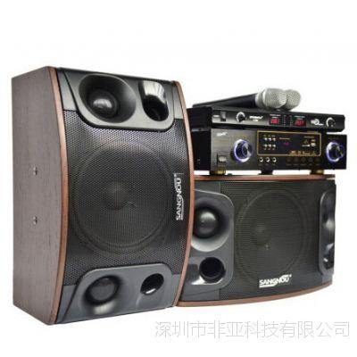 双诺 SA6201家庭影院KTV卡包箱专业卡包音响 音箱套装电视音响