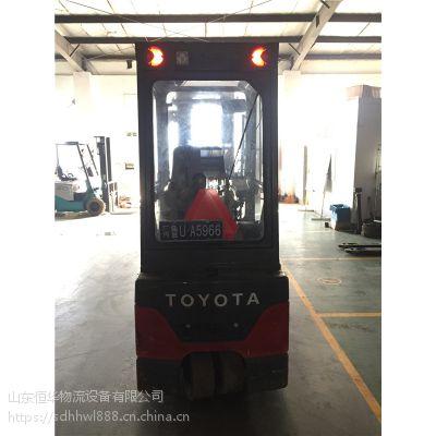 供应丰田原装进口2吨7FBEF20电动叉车三支点平衡重电动叉车