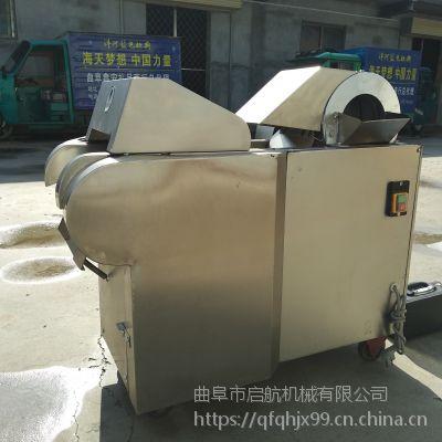 餐厅用萝卜切片机 土豆切丝机厂家 启航切藕片机