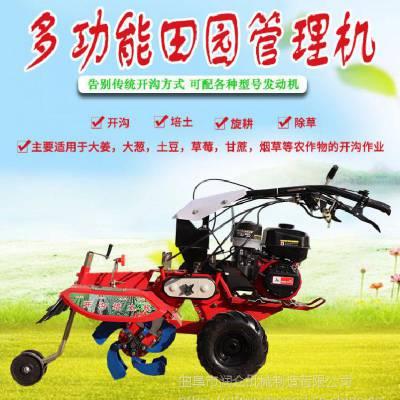 农用培葱机器 大马力培土机 大棚旋耕除草机润众