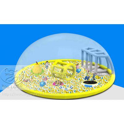 巨蟹乐园海洋球价格 百万海洋球乐园投资鲸鱼岛乐园