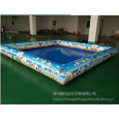 30公分高充气沙滩池价格 拼色充气沙池套装怎么卖的 郑州充气沙滩池销售工厂