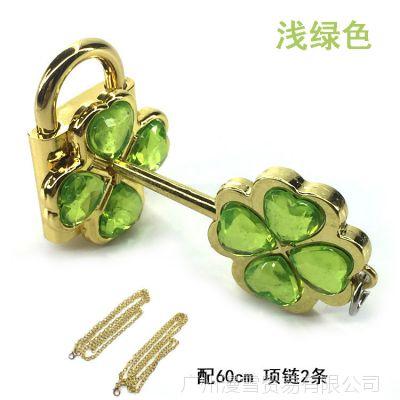 学生浅绿小兰亚梦守护甜心挂件情侣 水晶甜心锁项链包包小锁